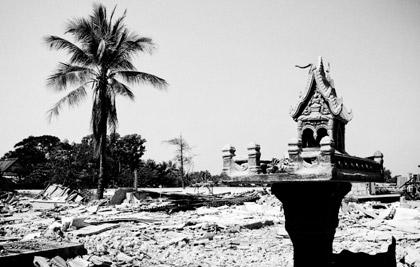 Photographie couradette Aculturation - Laos